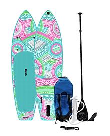 Sandbanks Malibu 10'6 - pink and green