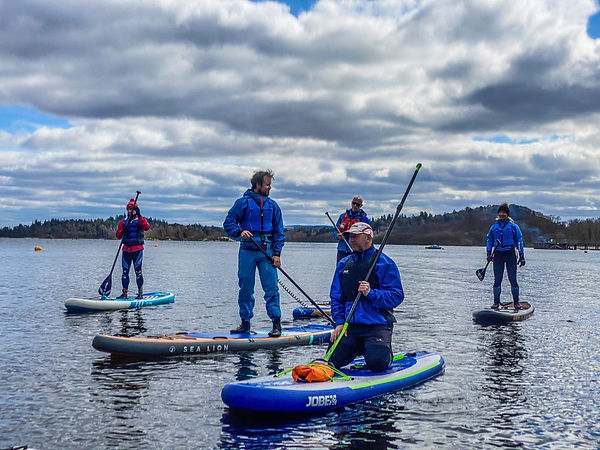 Coaching at Loch Lomond