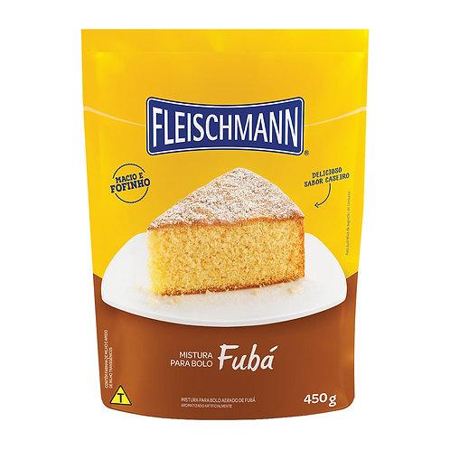 Mistura para Bolo Fleischmann 450g  Fuba