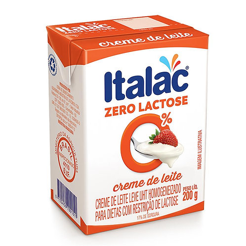 Creme de Leite Italac 200g Tp Zero Lactose