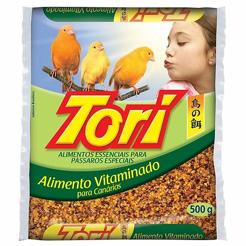 Ração Aves Alim Vitaminado Tori 500g Canario
