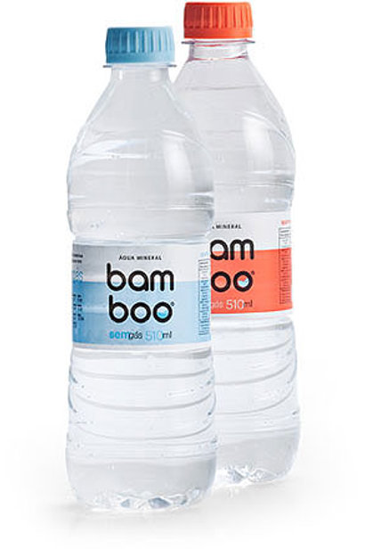 Água Mineral Bamboo 510ml C/Gás