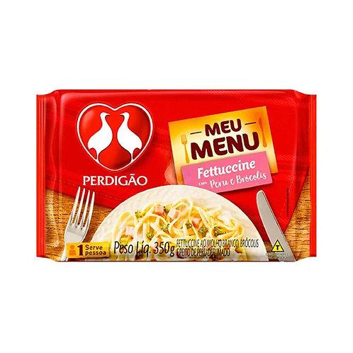 Meu Menu Perdigão 350g  Fettucine Peru Brocolis