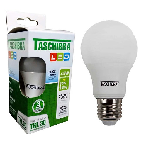 Lâmpada Led Taschibra 4,9W 6500K  127V