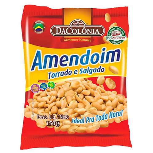Amendoim Da Colonia 150g Torrado Salgado