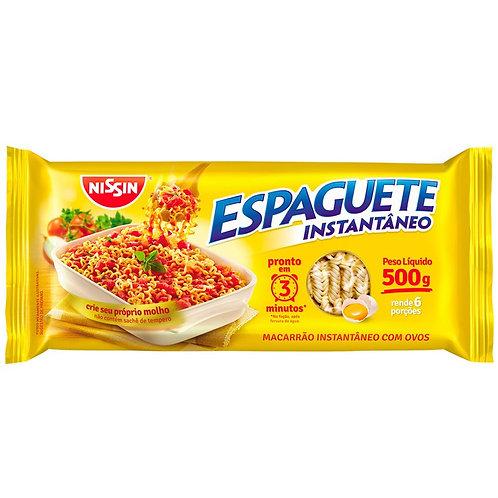 Espaguete Nissin 500g C/Ovo T3