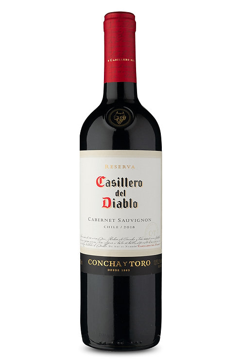 Vinho Casillero Del Diablo 750ml Cabernet