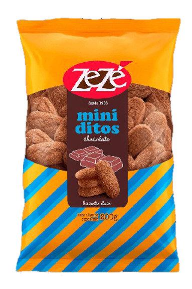Biscoito Zezé 200g Miniditos Choco
