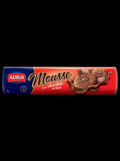 Biscoito Recheado Mousse 160g  Chocolate