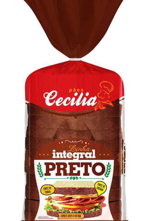 Pão Cecilia 400g Preto