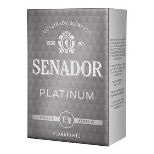 Sabonete Senador 130g  Platinum