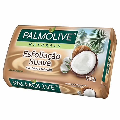 Sabonete Palmolive 150g  Coco Algodao Esfoliação Suave