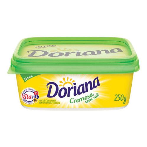 Margarina Doriana 250g S/Sal