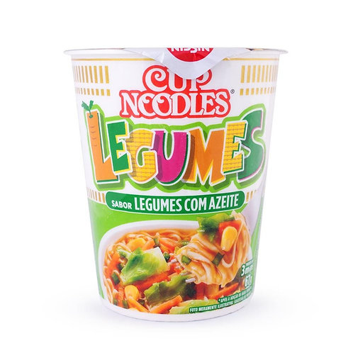 Cup Noodles  Legumes C/Azeite