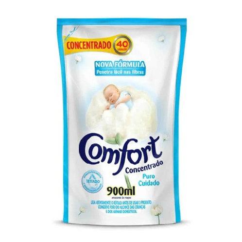Amaciante Comfort Sachê 900ml  Puro Cuidado