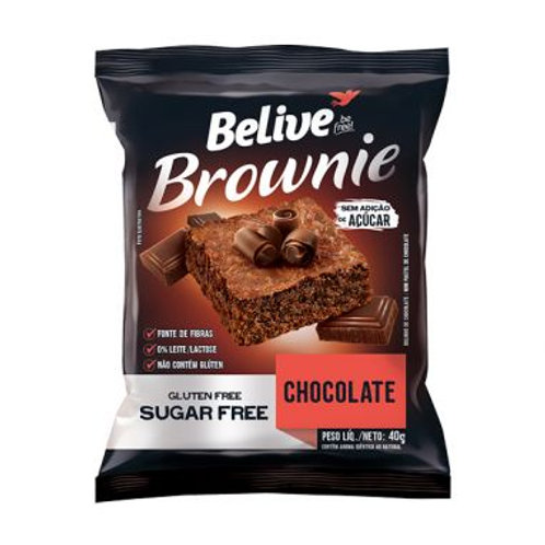 Brownie Believe 40g  Chocolate
