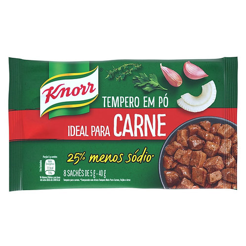 Tempero Knorr Ideal 40g  Carne
