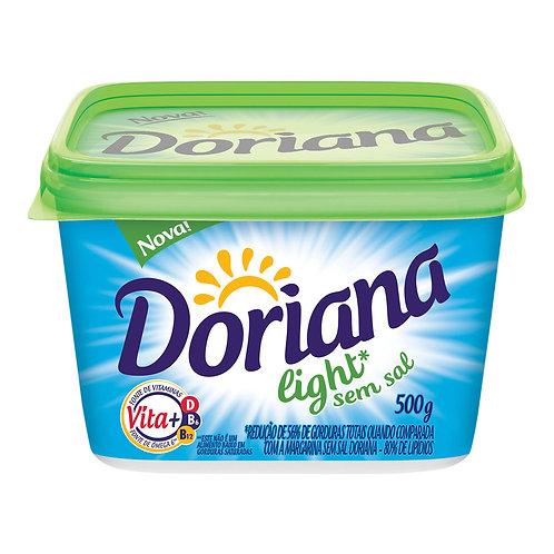 Margarina Doriana 500g S/Sal Light
