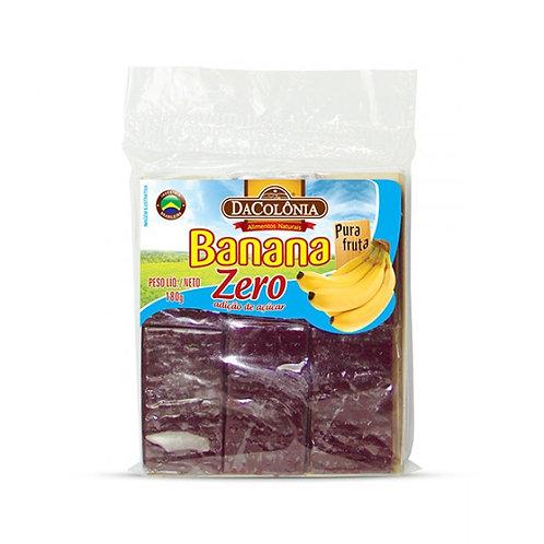 Doce de Banana Da Colonia 180g Zero