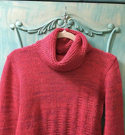 Blusão de lã com gola alta - tam 40