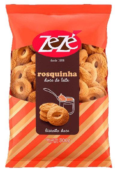 Biscoito Zezé 300g Rosq Doce Leite