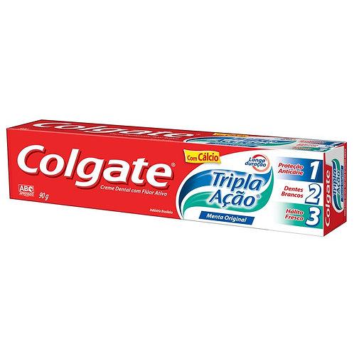 Creme Dental Colgate Tripla Ação 90g  Menta Original