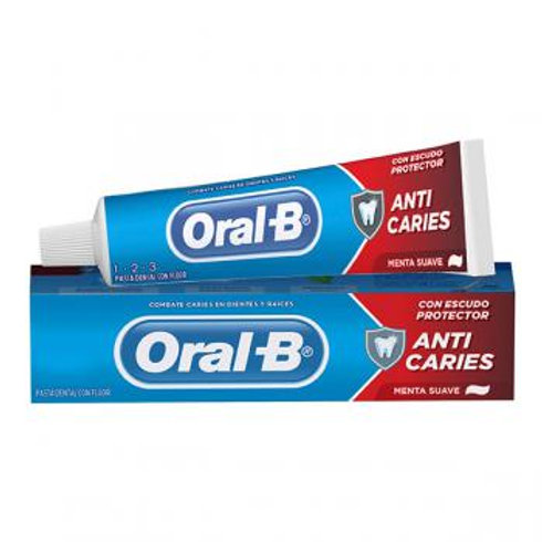 Creme Dental Oral B 123 70g Anti Caries  Oral