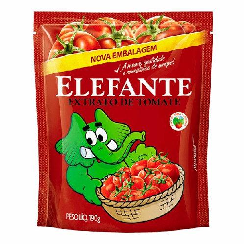 Extrato Tomate Elefante 190g Sachê