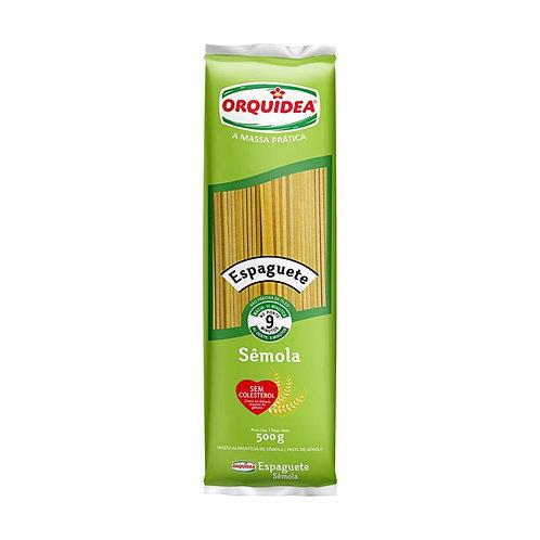 Massa Orquidea Sem Colesterol 500g Espaguete