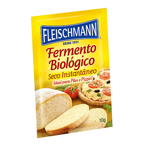 Fermento Bio Sco Inst 10g Fleischmann