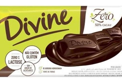 Chocolate Divine Zero 100g  50%Cacau