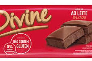 Chocolate Divine 90g  Ao Leite