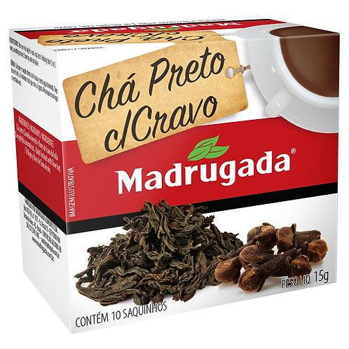 Chá Madrugada 15g Preto com Cravo