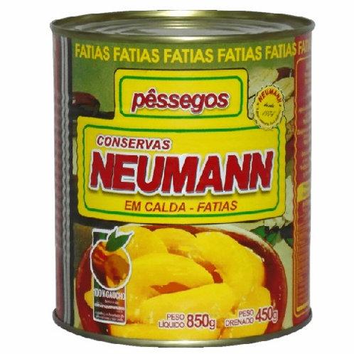 Pêssego Calda Neumann 450g Fatias