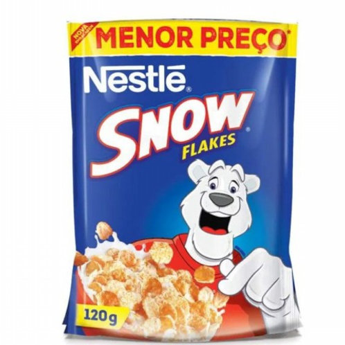 Cereal Nestle Sachê 120g Snow Flakes