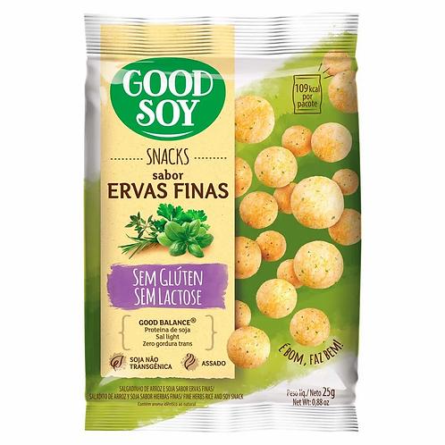 Snacks Good Soy 25g  Ervas Finas