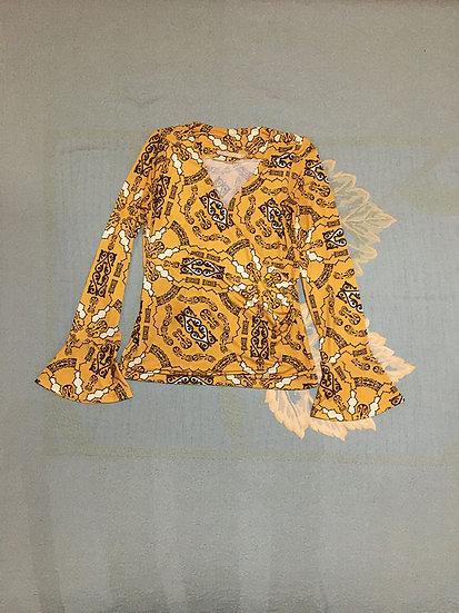 Blusa Maria Valentina Estampada - Tam M