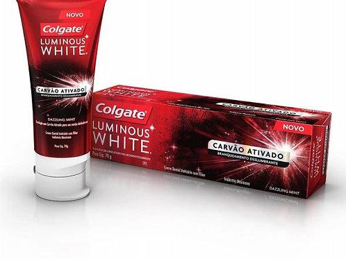 Creme Dental Colgate 70g Luminous Carvao Ativado