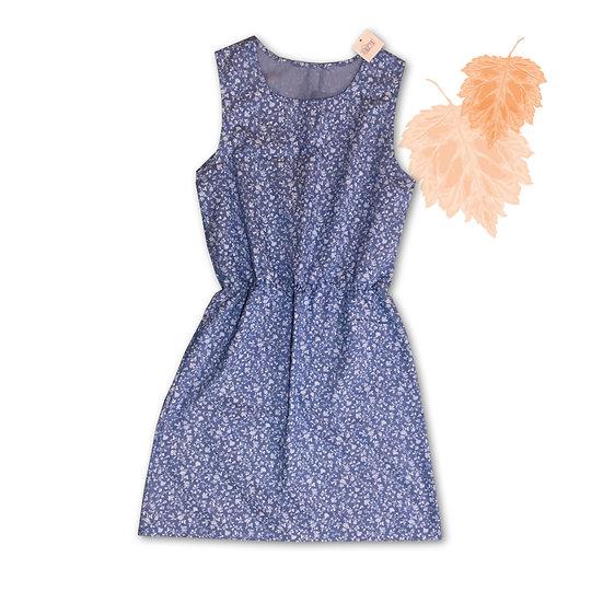 Vestido Azul Claro - Tam G
