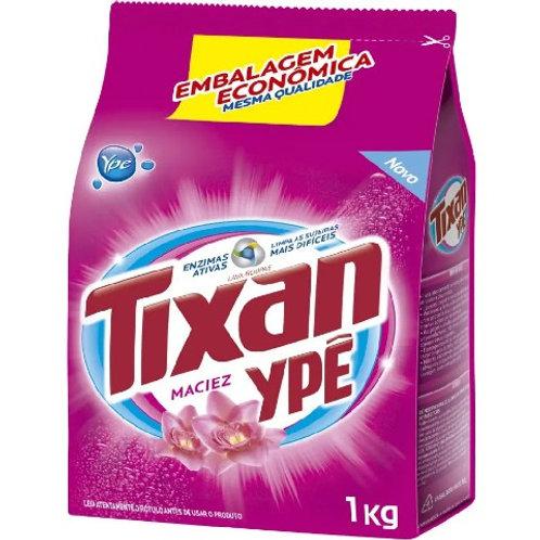 Lava Roupas Sachê Tixan 1Kg  Maciez