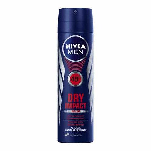 Desodorante Aerosol Nivea Men 150ml  Dry Impact