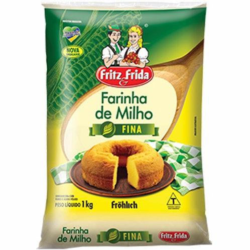 Farinha Milho Frida 1Kg  Fina