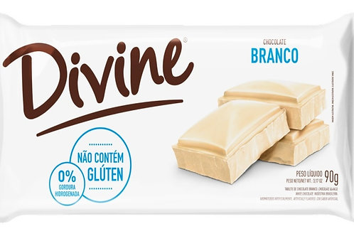 Chocolate Divine 90g  Branco