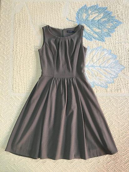 Vestido Cortelle marrom