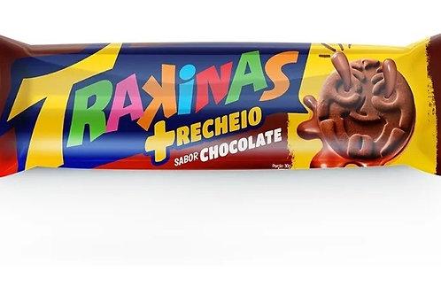 Biscoito Trakinas 126g  +Chocolate