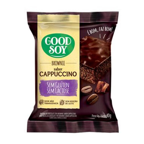 Brownie Good Soy 40g  Cappuccino