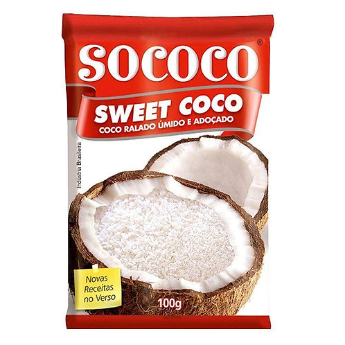Coco Ralado Sococo 100g Sweet Floco