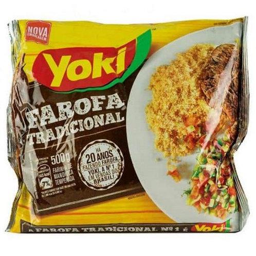 Farofa Yoki 500g Temperada