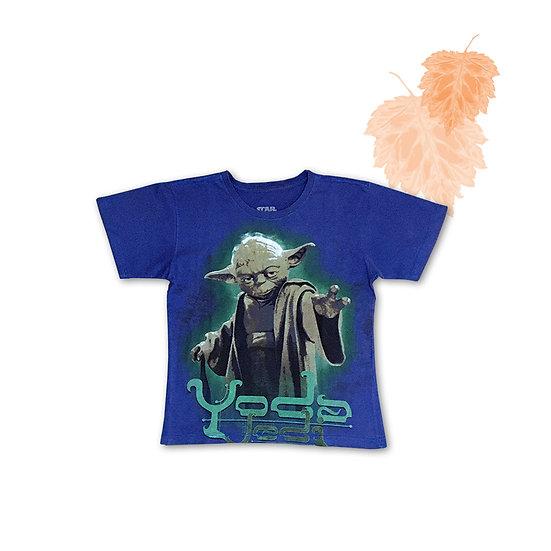 Camiseta Infantil Star Wars Yoda - Tam 8