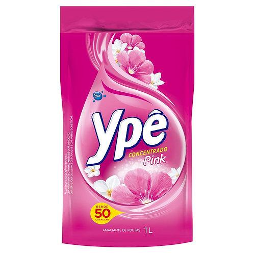 Amaciante Concentrado Ype 1L Sachê  Pink